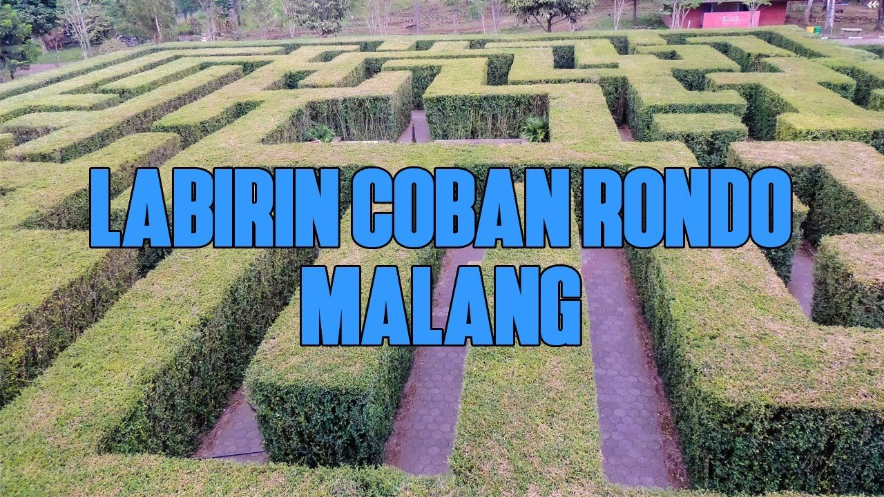 Labirin Coban Rondo Malang - Wisata Seru Untuk Keluarga ...