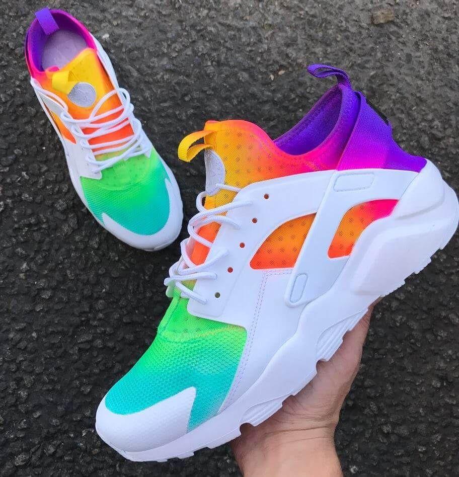 e0c2a0778f130 Top 10 Custom Nike Huarache Sneakers - WassupKicks