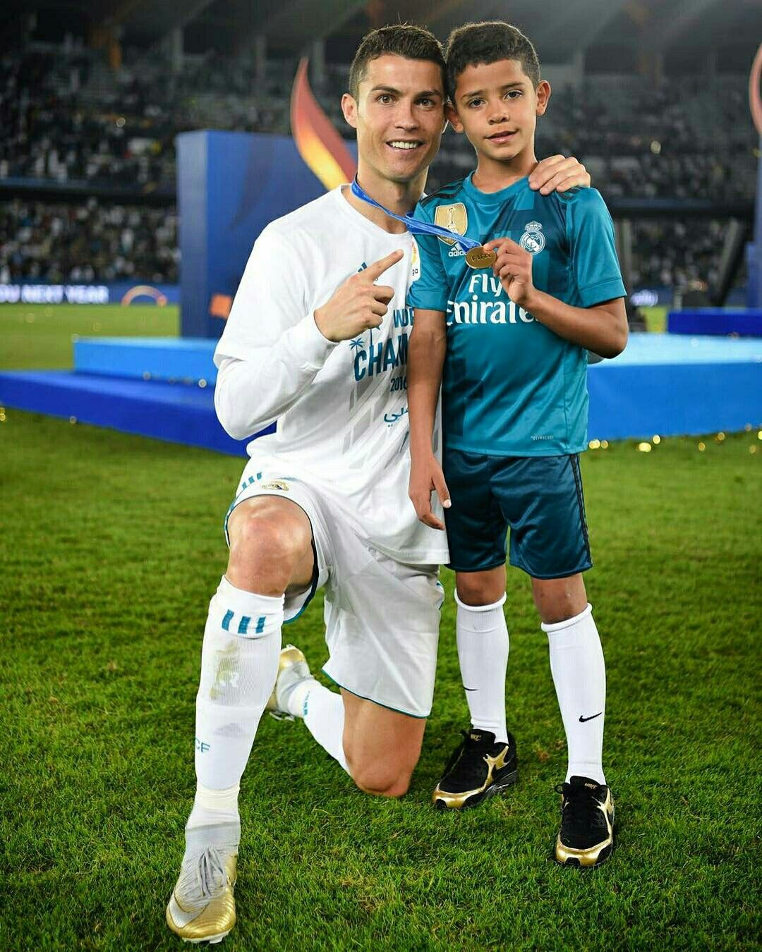 23bcdc2d4 Cristiano Ronaldo and Junior