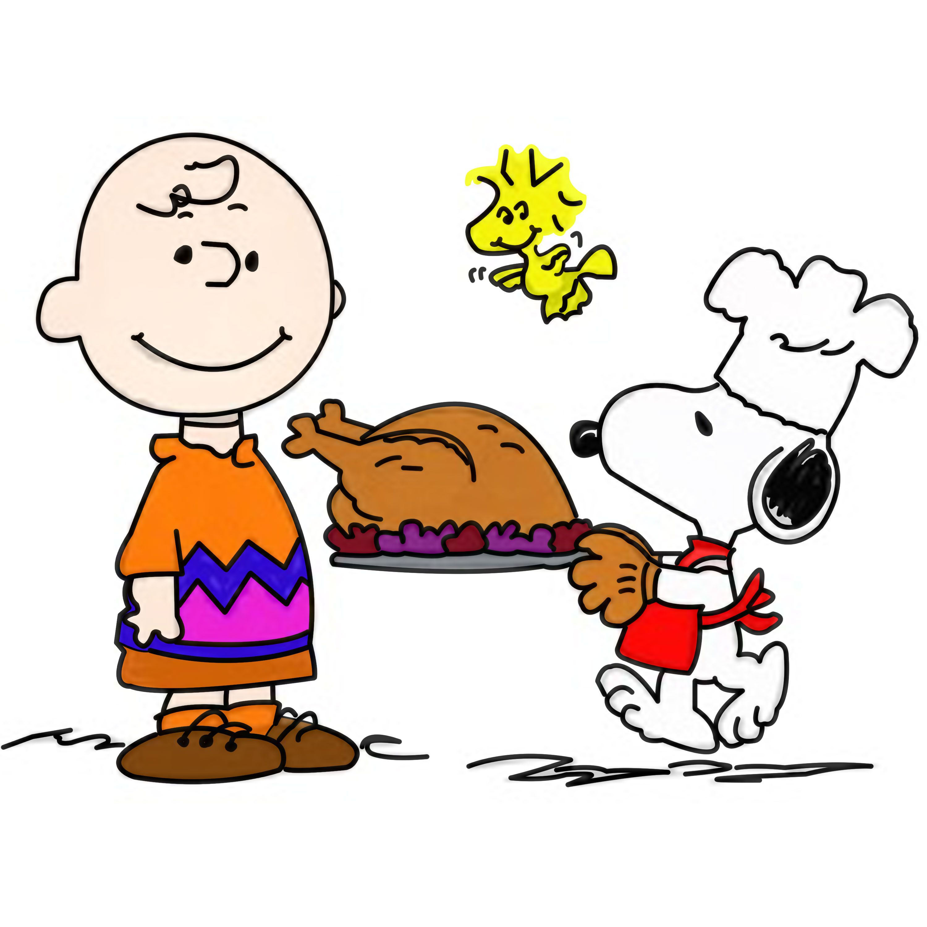 42++ Snoopy thanksgiving clipart free information