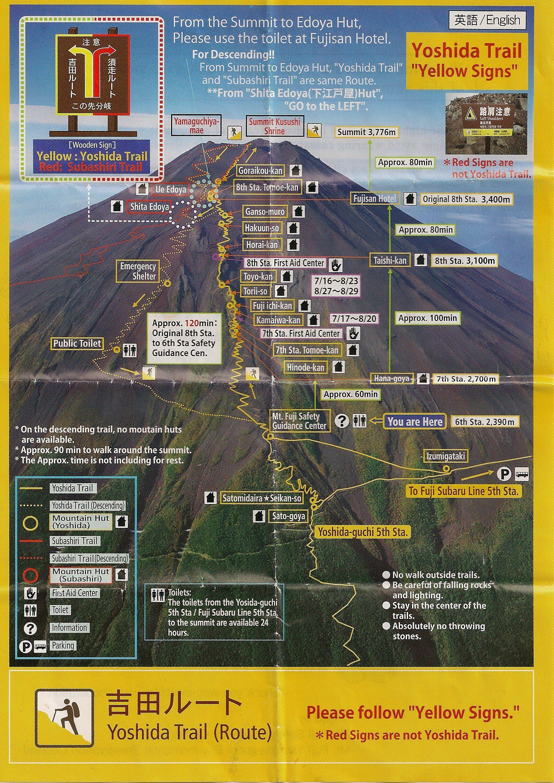 Hike Mt Fuji 富士山 A Practical Guide Japan Trip Pinterest