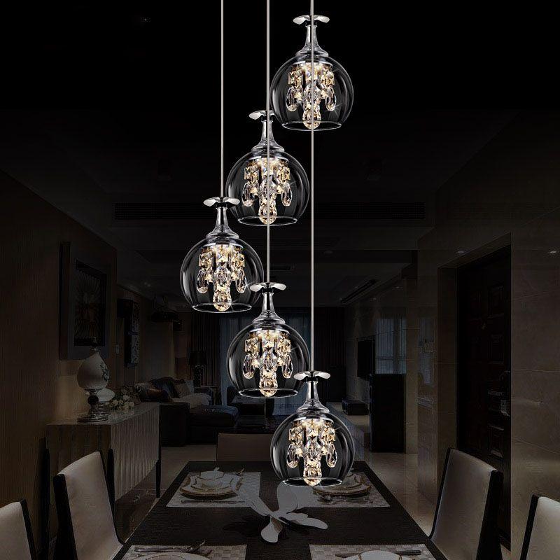 Bandeja pendiente de la lámpara moderna lámpara colgante 4/5/6/8 ...