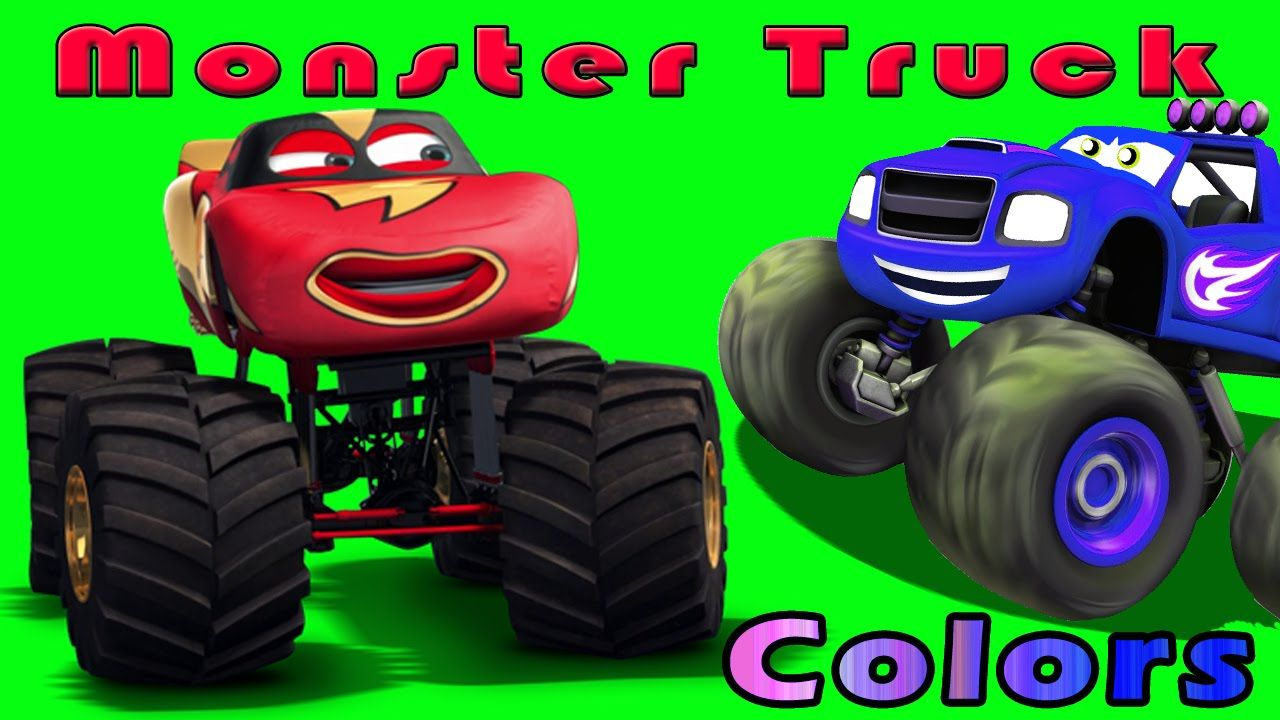 Super Monster Truck Colours For Kid | Learn Colors song | Preschool ...