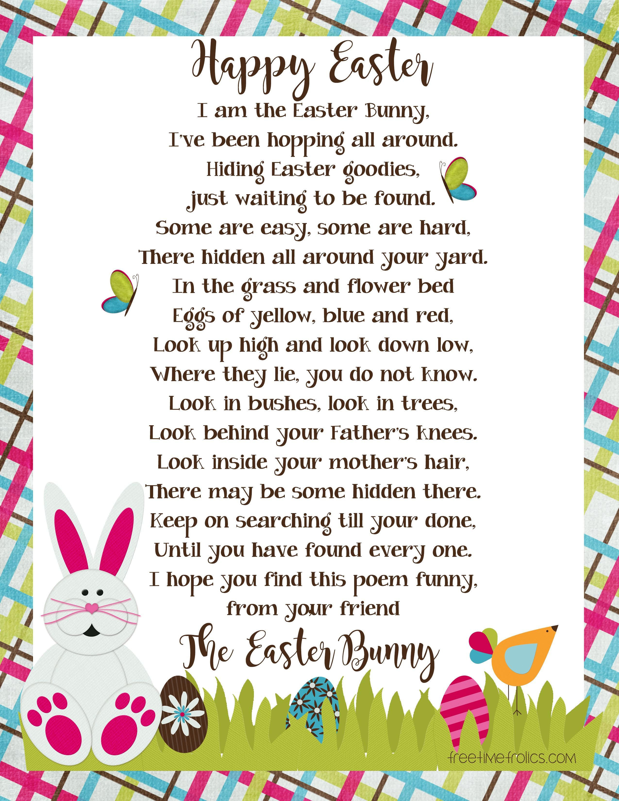 Easter Bunny Letter Image Easter Bunny Template Bunny Templates