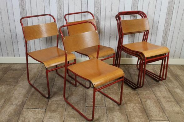 vintage retro remploy stacking chairs | BOCA BRANDON | Pinterest . - Beautiful Vintage School Chairs Contemporary - Liltigertoo.com