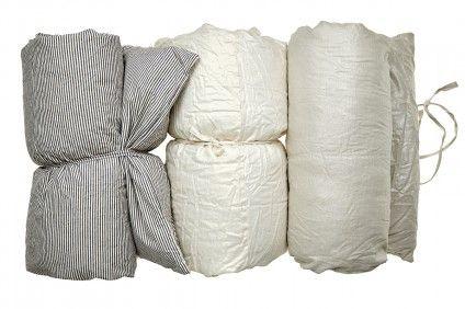 Metallic Linen Throw Bed