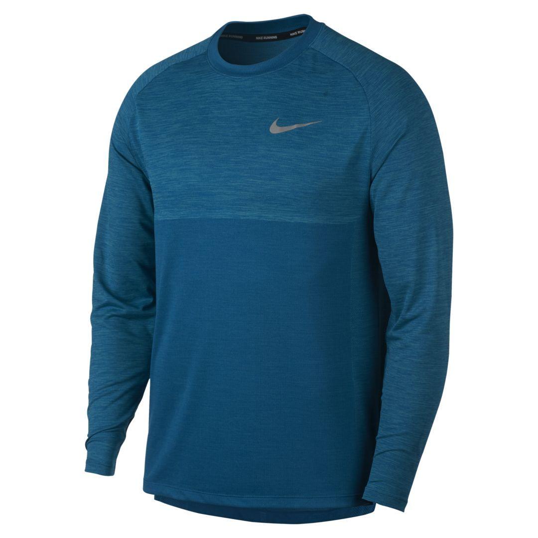 b8872027 Dri-FIT Medalist Men's Long Sleeve Running Top   Products   Nike dri ...