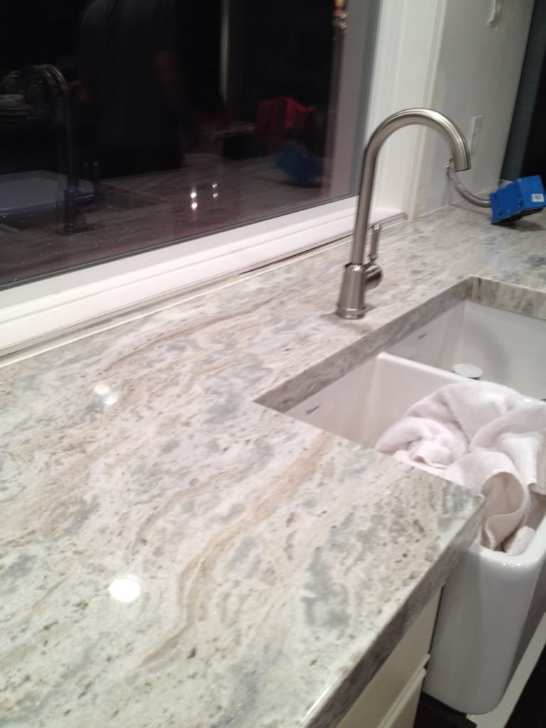 Granite With Veins White Kitchen Countertops Kitchens Forum Gardenweb