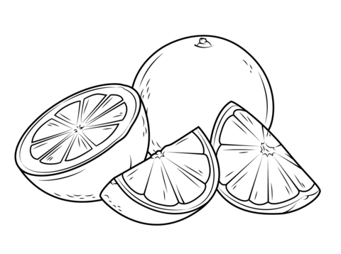 two-oranges-one-whole-and-the-other-cut-it-pieces-coloring-page.png ...