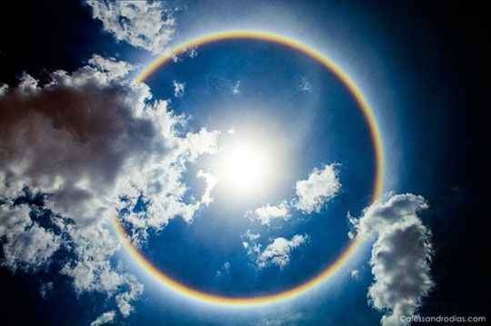 circle-rainbow in Brasilia, Brazil
