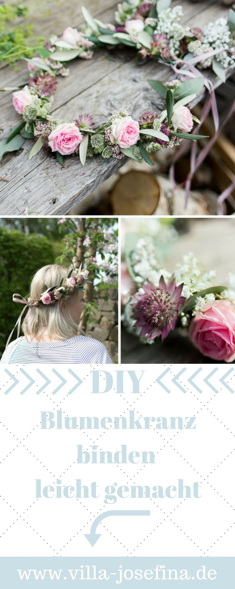Photo of DIY // Blumenkranz binden