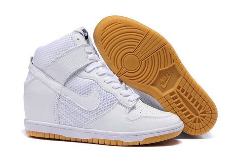 Nike Dunk Sky Hi Lib NRG Women Shoes White Nikes
