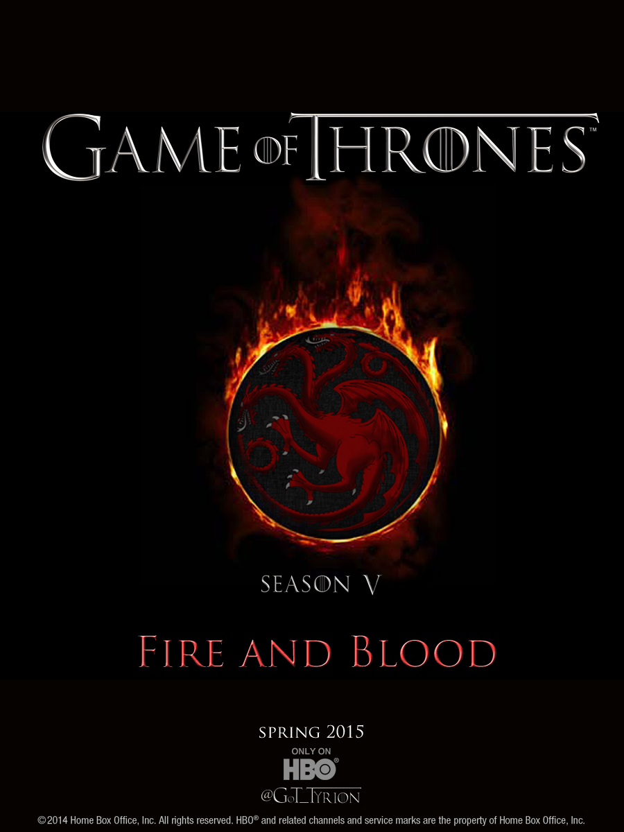 Game Of Thrones Season 5 Fire And Blood Sorted Shows Game Of