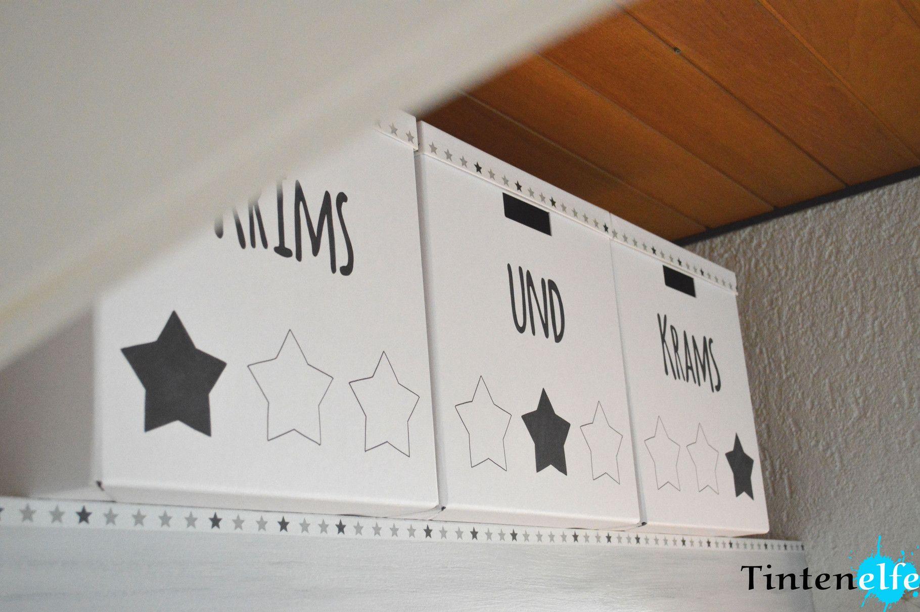 Blog Tintenelfe.de   Ikea Kiste Tjena Aufhübschen #ikea #ikeahack #tjena #  · Trautes HeimIkea