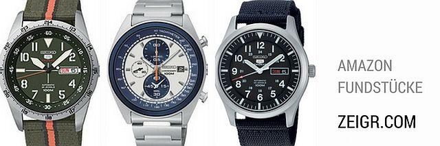 Fundstücke (Retro) Uhren unter 300 Euro (mit Bildern