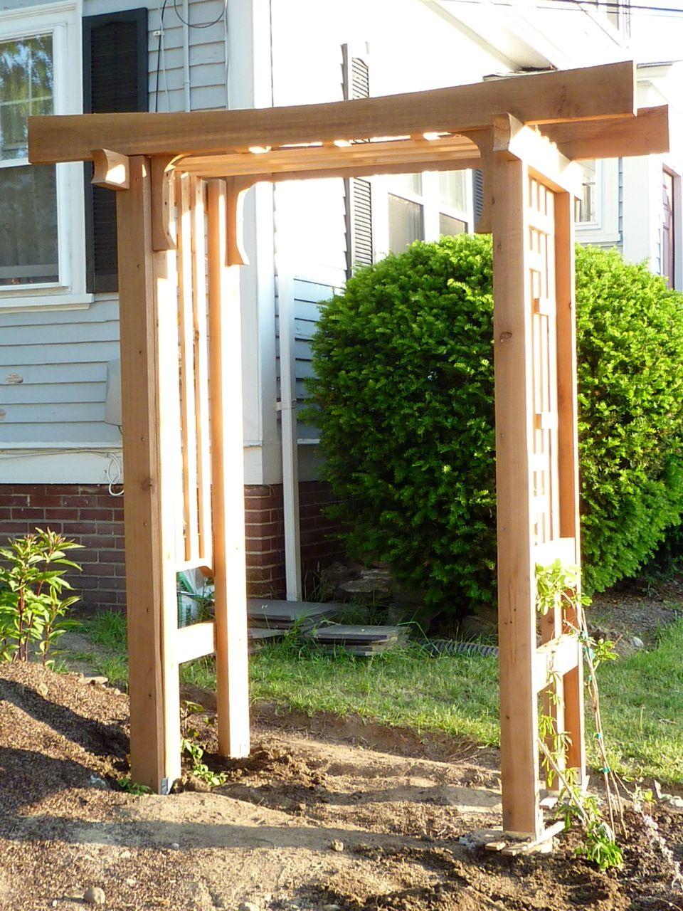 Japanese Arbor 2 Backyard Buildings Pergola Backyard 640 x 480