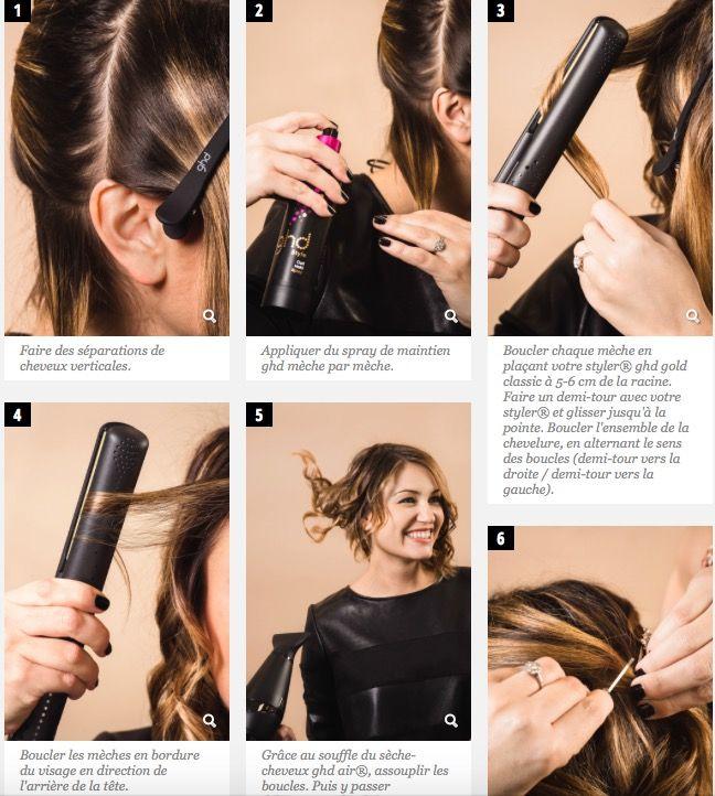 ba3a18965a11 Boucle Avec Lisseur, Lisseur Ghd, Lisseur Cheveux, Sèche Cheveux,  Accessoires Cheveux,