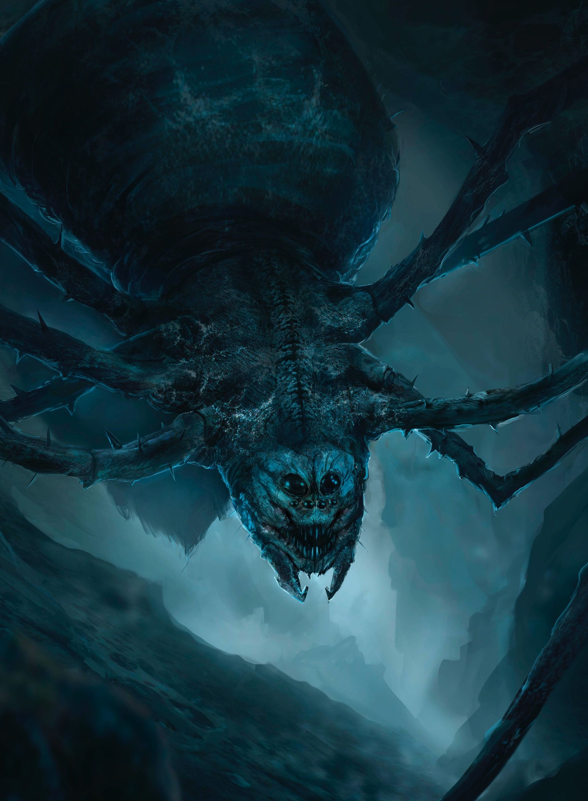 Ungoliant | Tolkien, Tolkien art, Middle earth
