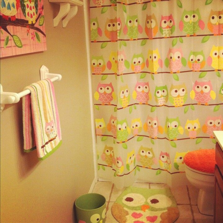 Owl Themed Bathroom If Kiara Has Her Own