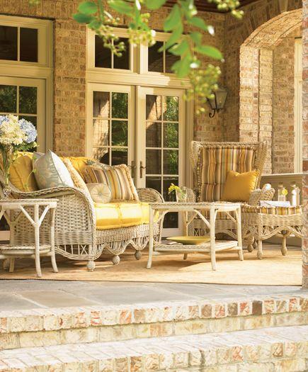 Laneventure Natchez Outdoor Seating Henredon Interior Design