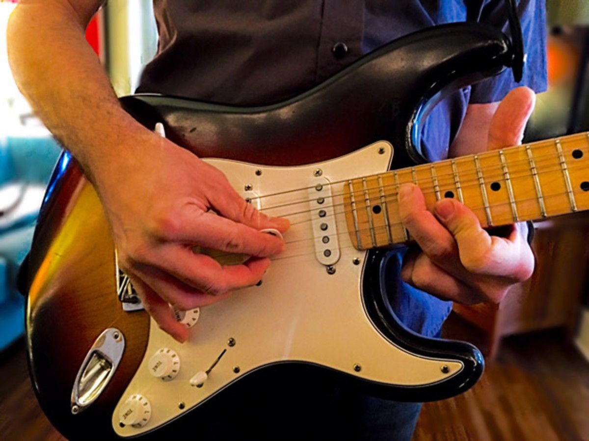 How To Blow Minds On Guitarwith Just One Finger Guitar Chords