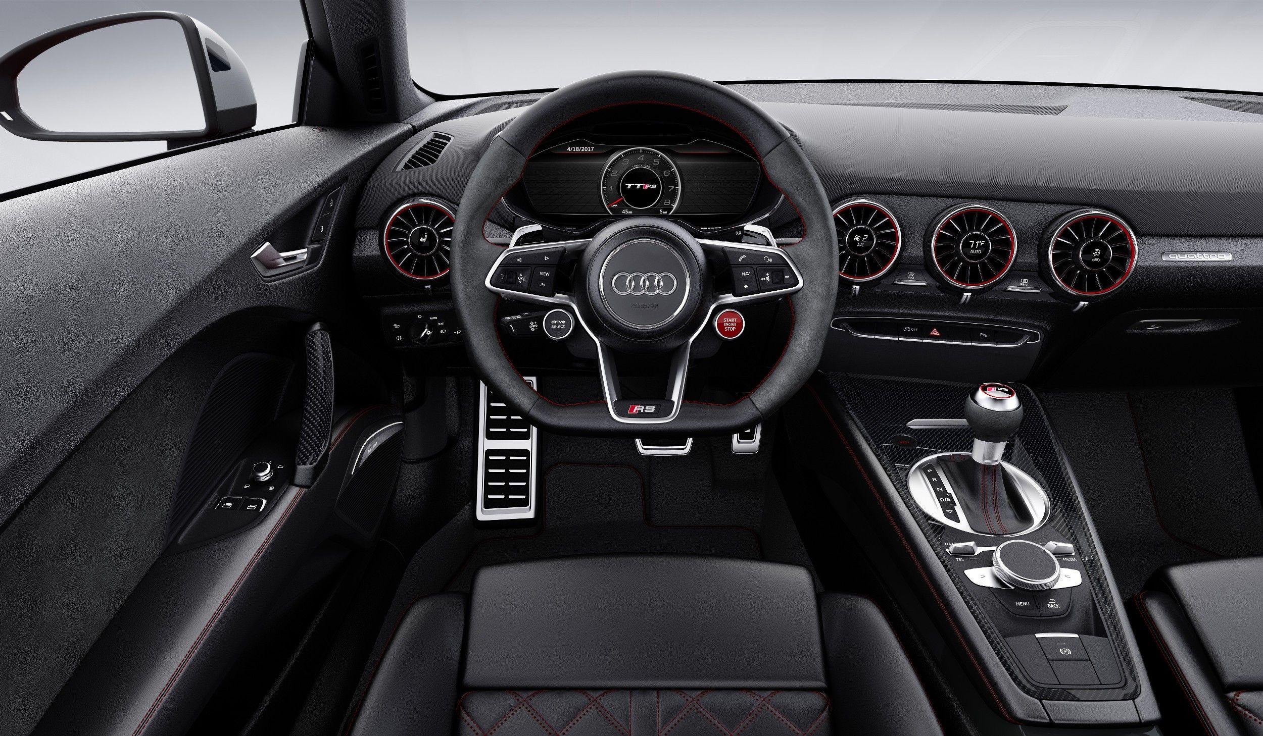 The 2019 Audi Tt Dashboard Interior