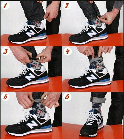 jak podwijać nogawki