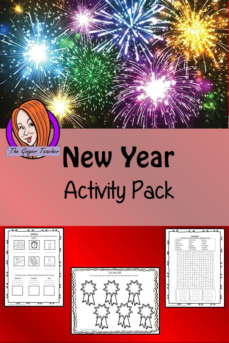 New Year Activity Pack New Year Activity Pack a fun pack for your classroom 14 activities for your
