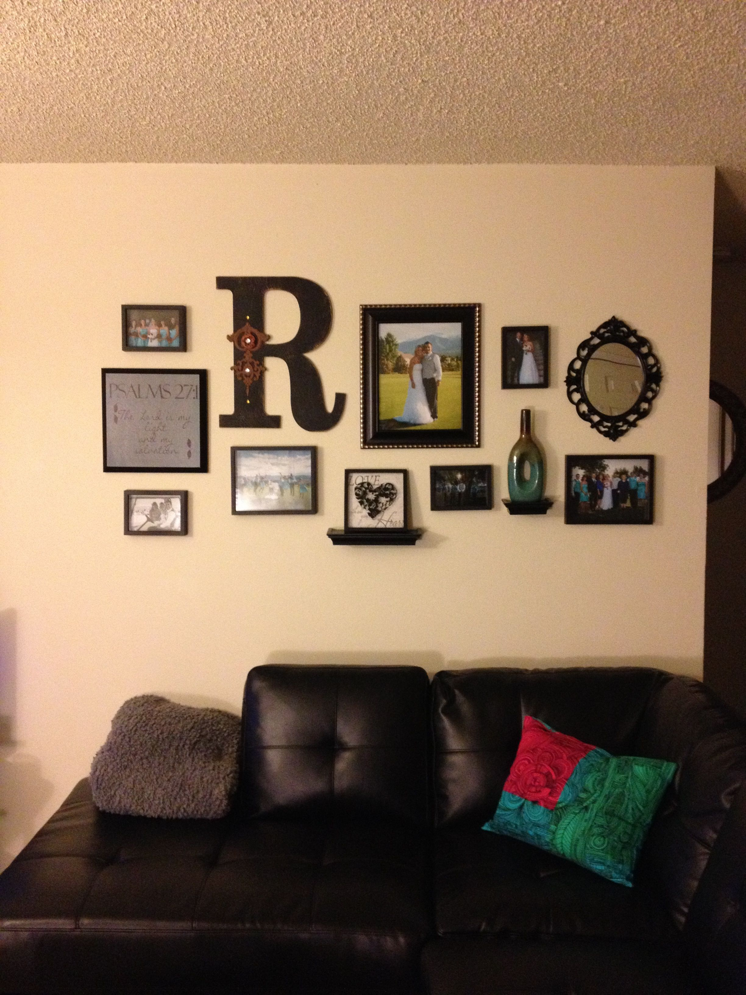 The collage I put up on our apartment wall :) | Things I\'ve made ...