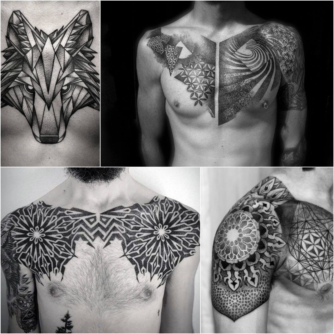 100 Best Chest Tattoos For Men Chest Tattoo Gallery For Men Tattoos For Guys Tattoo Gallery For Men Cool Chest Tattoos