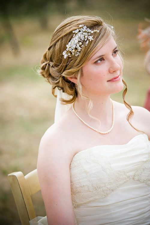 Magnificent 1000 Images About Wedding Hairstyles Help On Pinterest Short Hairstyles Gunalazisus