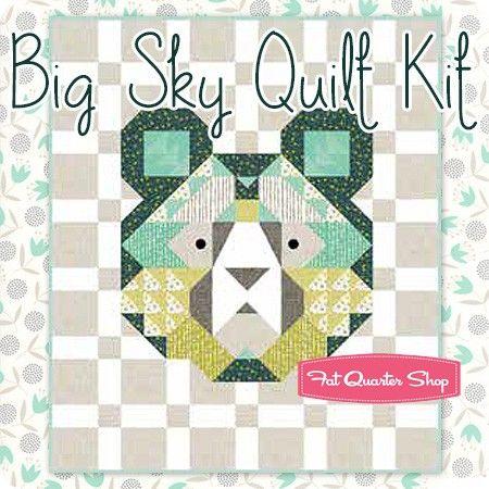 Big Sky Quilt Kit Featuring Big Sky By Annie Brady
