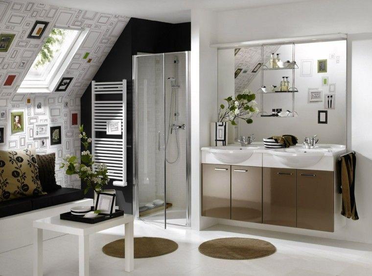Diseños de baños modernos: 50 ideas insólitas para aprovechar ...