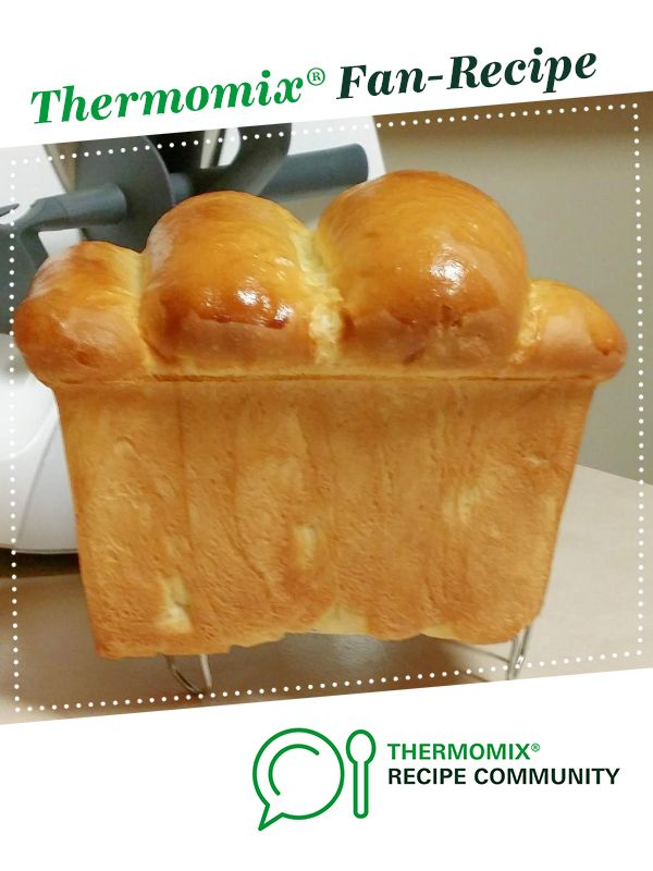 Milk Bread using Tangzhong | Recipe | Thermomix recipes ...