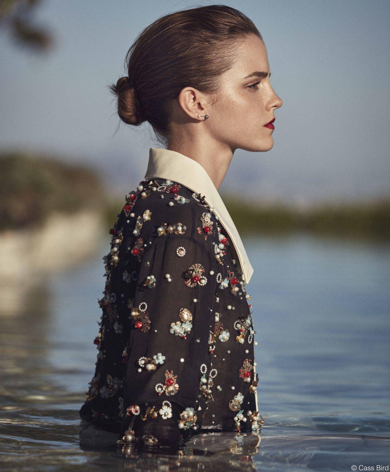 Emma Watson for Porter Magazine Winter Escape 2015 Issue