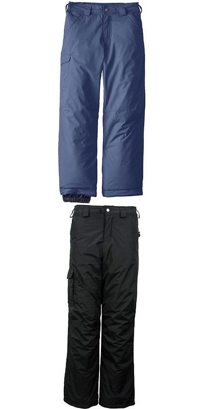 Snow Pants and Bibs 36261: White Sierra Bilko Insulated Boy S Pants -> BUY IT NOW ONLY: $40.99 on eBay!