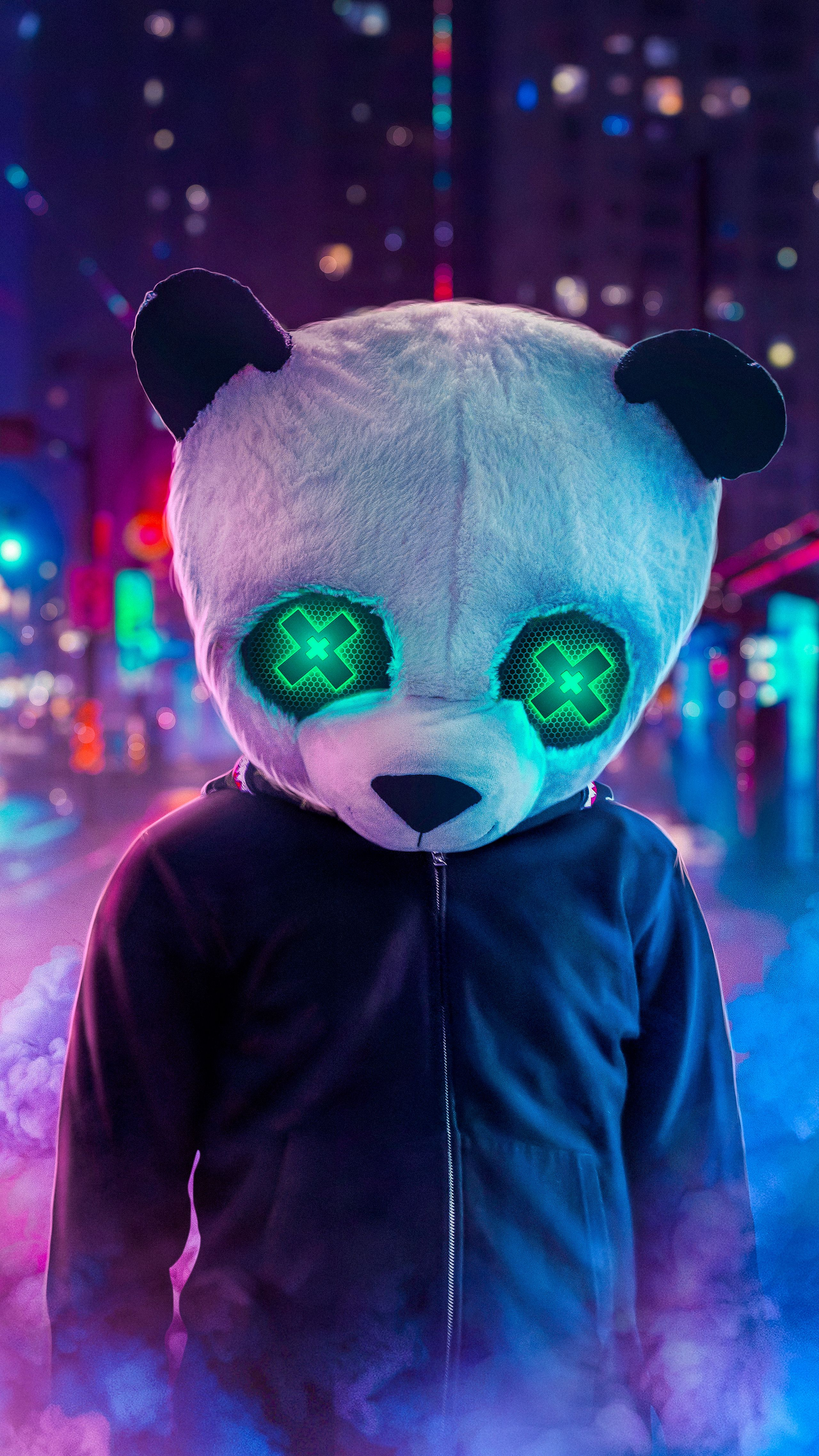 Phone Panda Style Android Ios Wallpaper Iphone Wallpaper Glitter Hypebeast Wallpaper Panda Art