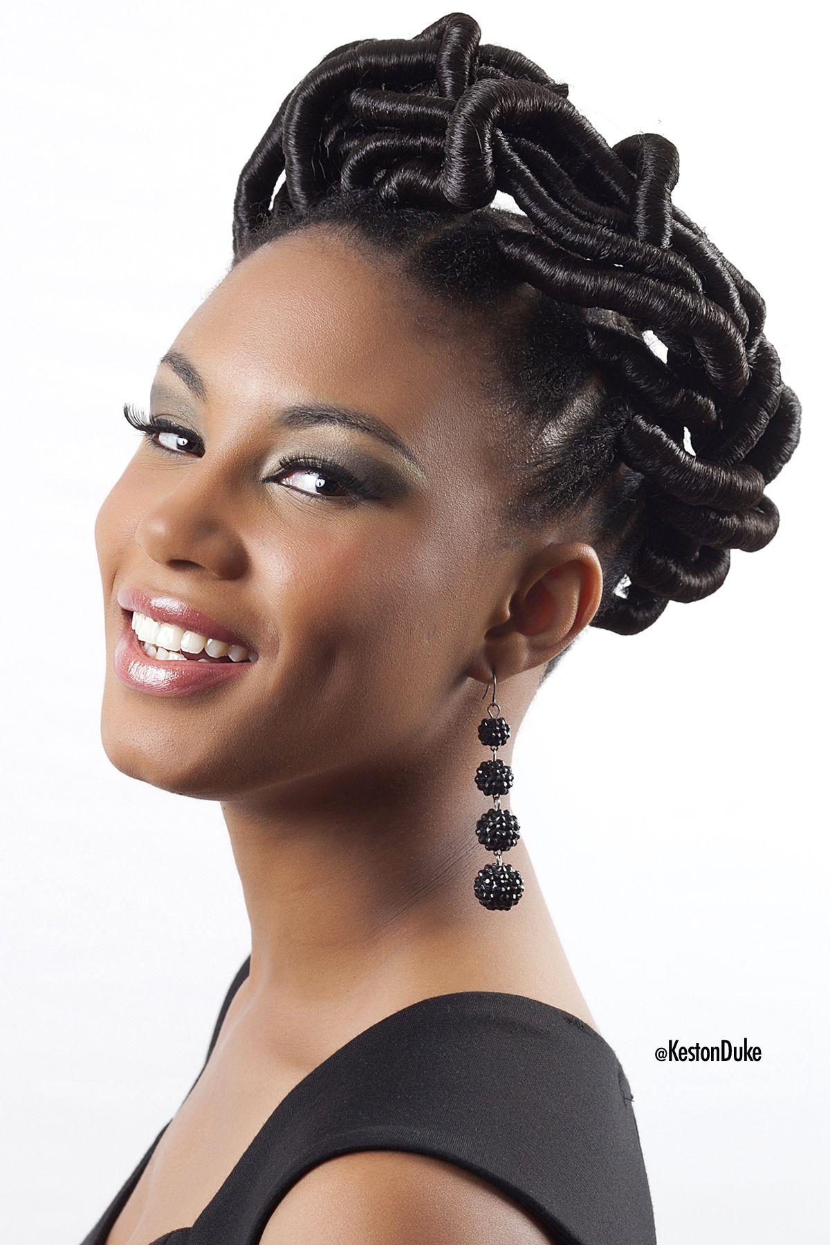 Natural Hair Model Silky Locs Long Hair Faux Loc Protective
