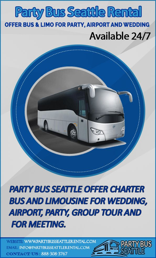 Partybusseattlerental Com Offer Charter Bus And Limousine For