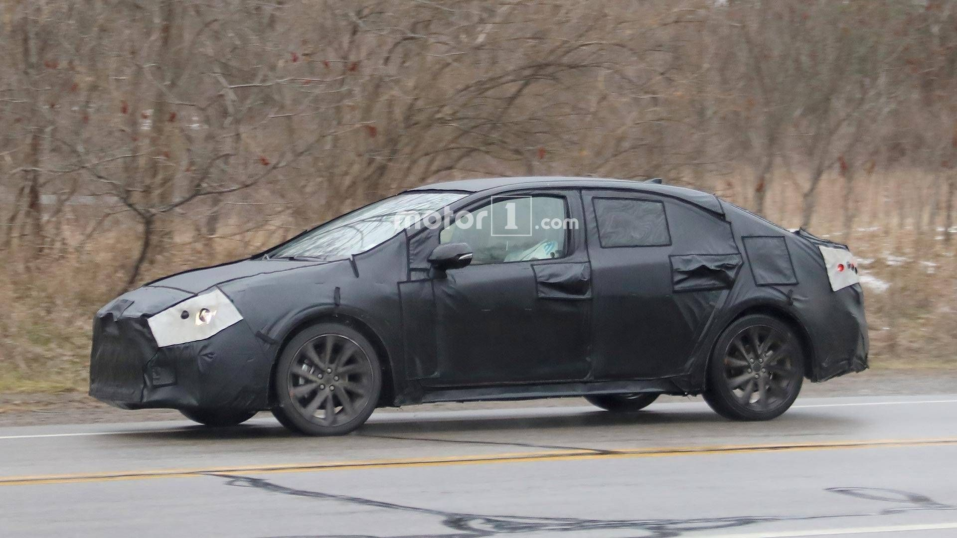 The New Toyota Avensis 2020 Spy Shots Performance Toyota Avensis