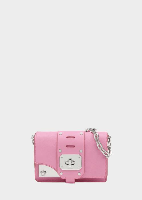 c50d0d06c3d VERSACE Mini Stardvst Bag. #versace #bags #shoulder bags #leather #wool  #lining #