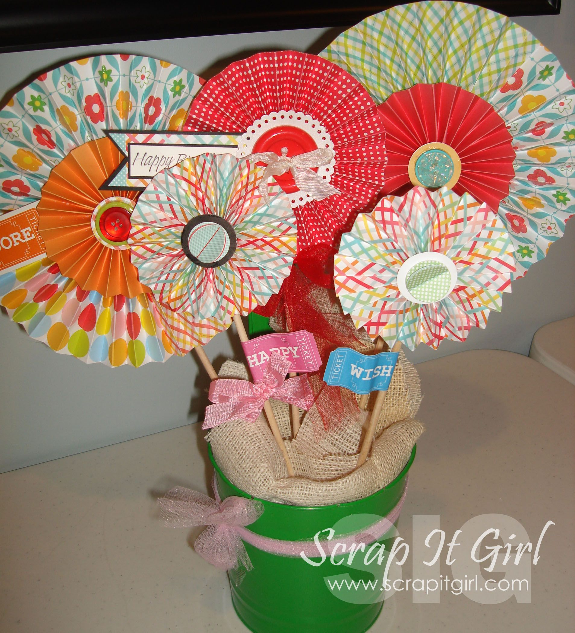 April 10, 2012 Birthday Flowers, pick one or two. One of my local stores sells these for me.  Kimberly Congdon