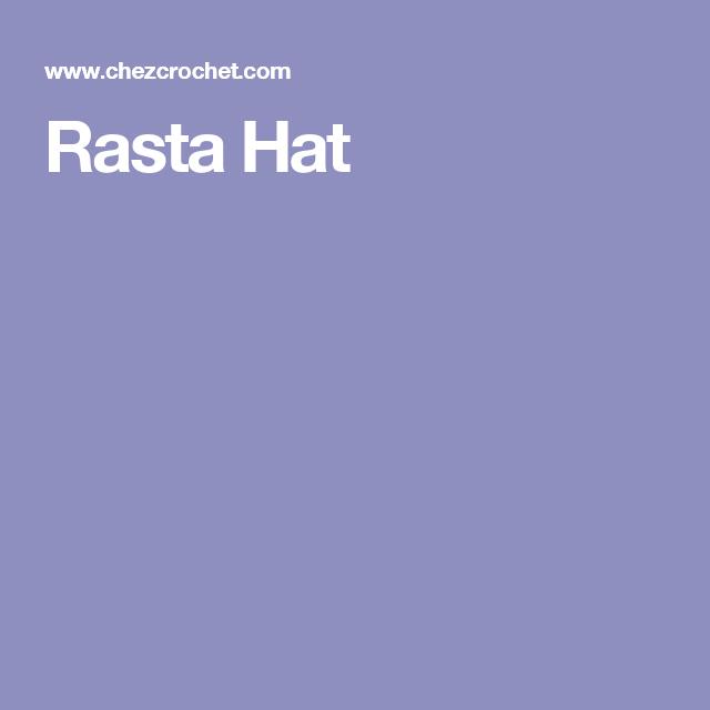 Rasta Hat | mutsen | Pinterest | Patrones amigurumi y Patrones