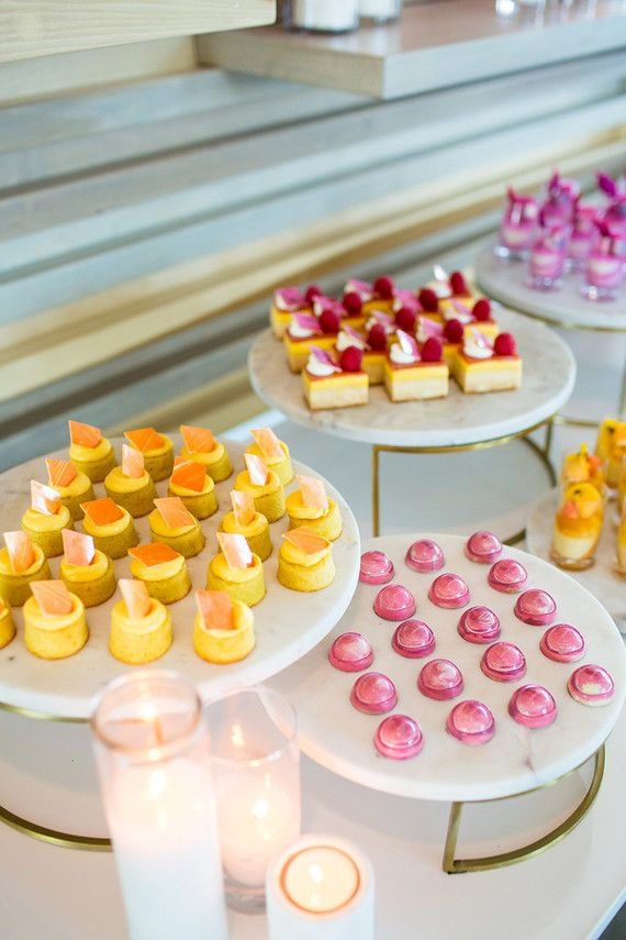 This Colorful Dessert Table Is Perfect For A Summer Wedding