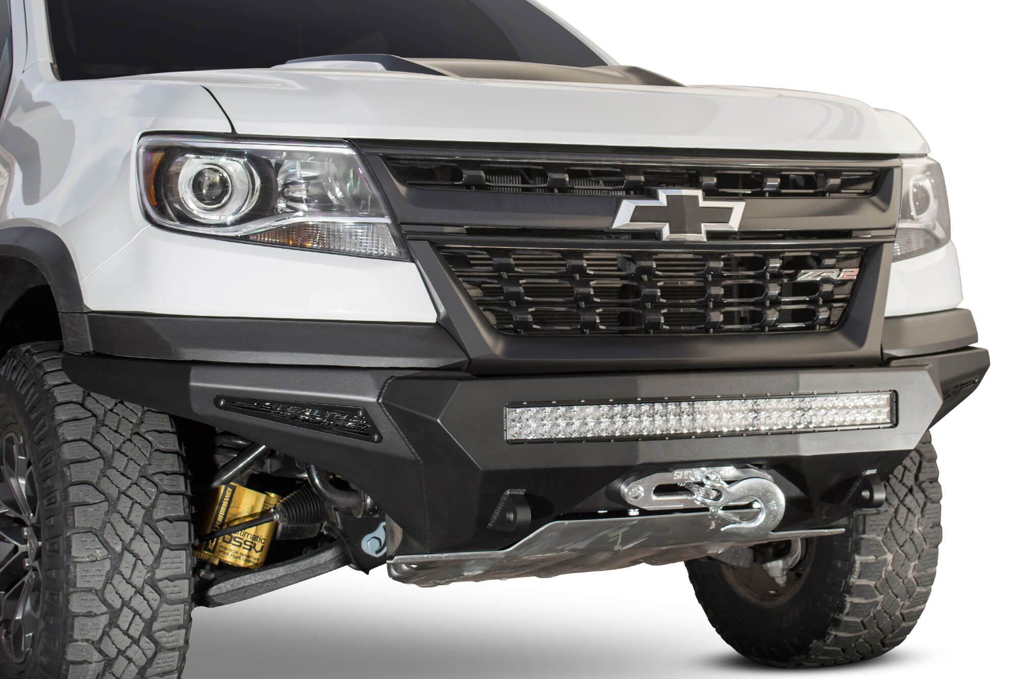 2017 2020 chevy colorado zr2 stealth fighter winch front