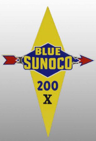Blue Sunoco 200 X Porcelain Sign Porcelain Signs Porcelain Signs Porcelain Live Colorfully