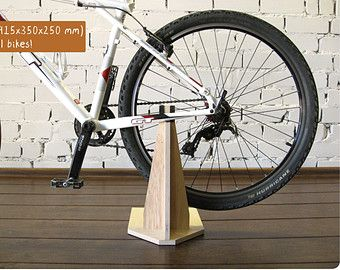 Bike Holder Bicycle Stand Bike Rack Wooden Bike