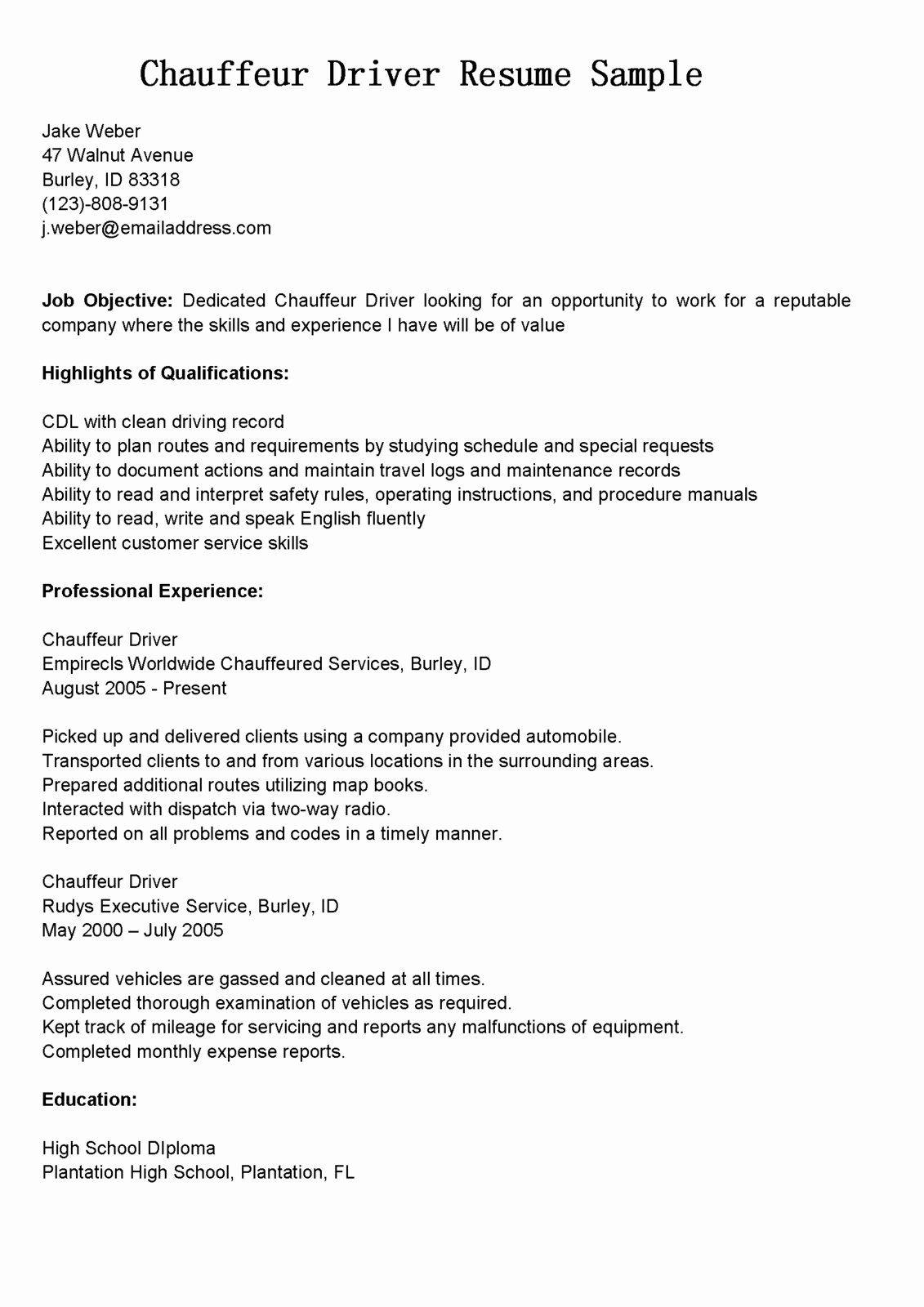 23 Uber Driver Job Description Resume In 2020 Driver Job