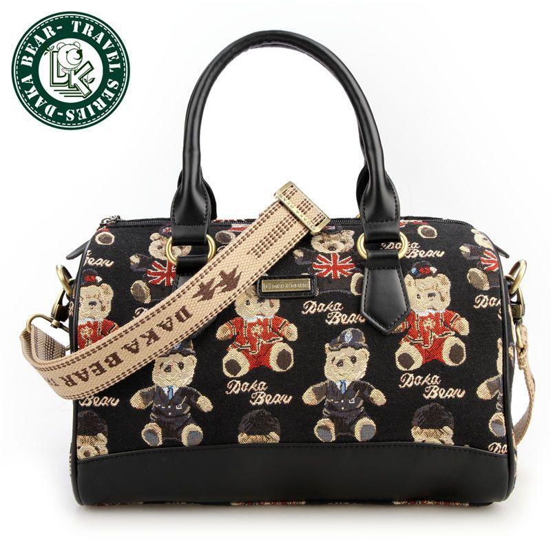 DAKA BEAR Smile Bag Shoulder Womens Handbag Brand Satchel Luxury Messenger