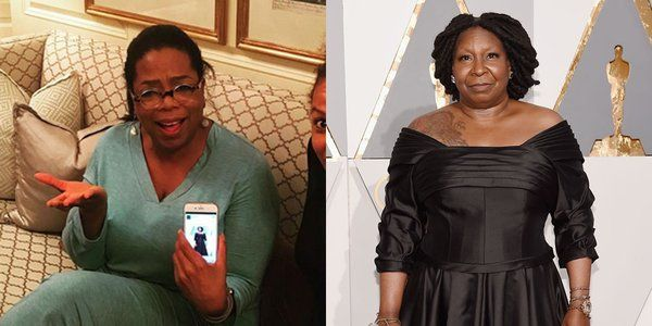 EkpoEsito.Com : Oprah reacts after being mistaken for Whoopi Goldb...